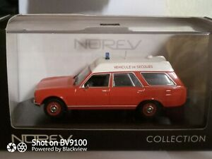 1/43 Peugeot 504 Break Ambulance Pompier NOREV