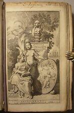 THOMAS GALE: OPUSCULA MYTHOLOGICA, GRAECE & LATINE, 1688, PERGAMENT, ANTHOLOGIE