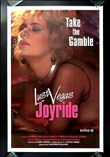 LUST VEGAS JOYRIDE * CineMasterpieces 1SH X ADULT MOVIE POSTER ROLLED LAS VEGAS