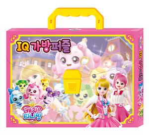 Korean TV Anime 5 princesses Catch Teenieping Jigsaw Puzzle Bag Set 18/25/35/48