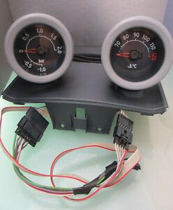 Genuine Smart Roadster 452 twin gauge Temperature Boost pods dash top & wiring