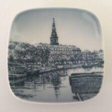 Bing & Grondahl B & G Copenhagen Mini Plate Christiansborg 9707 / 708 Denmark