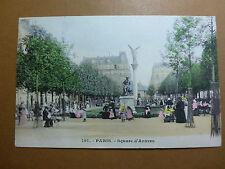 Lot008p c1904 PARIS - Square d'ANVERS POSTCARD FRANCE