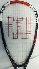 Squash Racquet - Wilson Ti Comp Titanium