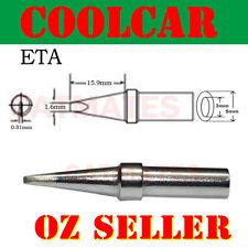 Solder Soldering Station Iron Tip ETA Lead Free for Weller WES51D ScrewDriver OZ