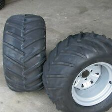 24x12.00-12 TIREs RIMs WHEELs ASSEMBLY Garden Tractor Z Riding Lawn Mower 4-Hole
