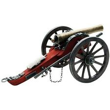Civil War Brass Barrel Cannon, 1/14 Detailed Scale Model, Confederate or Union