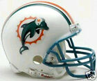 Miami Dolphins 1997-2012 NFL Football Team Logo Riddell Throwback Mini Helmet