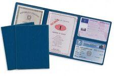 porta documenti patente carta d'identità soldi carte di credito card 12,5x9