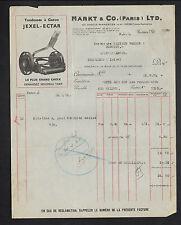 """PARIS (XI°) USINE de TONDEUSE GAZON Jexel-Ectar """"MARKT & Co"""" en 1935"""