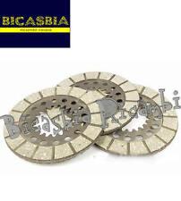 2243 - DISCHI CAMPANA FRIZIONE A 3 PIAGGIO VESPA 150 STRUZZO (55-56) VL2T