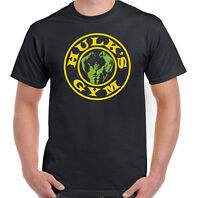 Hulk's Gym - Mens Funny Training T-Shirt Top MMA Bodybuilding Gym Train Weights