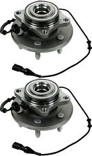 Hub Bearing Assembly for 2004 Ford Expedition Fit ALL TYPES Wheel-Rear Pair