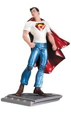 DC COMICS - THE MAN OF STEEL METALLIC SUPERMAN STATUE by RAGS MORALES