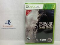 (LH) Medal of Honor-Limited Edition (Microsoft Xbox 360, 2010) COMPLETE!