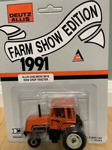 1/64 Scale Allis Chalmers 8010 Tractor Farm Show Edition 1991 Ertl 1819fa