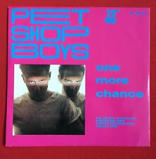 "PET SHOP BOYS -One More Chance (Remix)- Rare 1980's ZYX 12"" /German/Pink Sleeve"