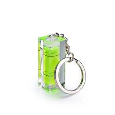 Mini Acrylic Spirit Level Keyring Keychain Key Chain Pocket Tool Gadget Gift A