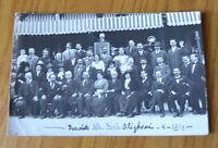 CARTOLINA BANCHETTO DELLA DANTE ALIGHIERI RARA VIAGGIATA 1914 SUBALPINA QQ