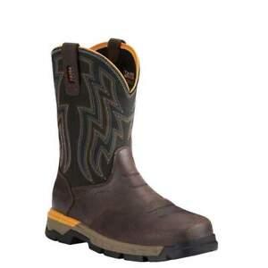 Ariat Mens Rebar Flex Soft Toe Work Western Boot 10021478