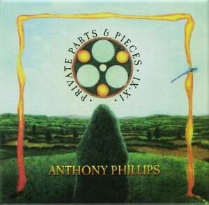 Anthony Phillips (ex Genesis) Private Parts & Pieces IX-XI (4 CDs Remastered)