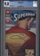 Superman #17 CGC 9.8 Kevin Maguire BRIAN MICHAEL BENDIS