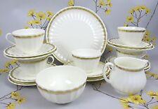 RARE Royal Worcester BONE CHINA eleganza Tè Set/servizio. in primo luogo. tazze piatti ecc.