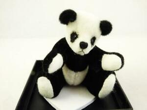 World of Miniature Bears #370 Panda by Stacy Poi 3""