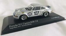 """Minichamps 1/43 PORSCHE 911 CARRERA RSR 2.8 #107 TARGA FLORIO 1973 """"MARTINI"""""""
