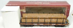 Bachmann 93524 Colorado Southern Flat Car w/5 Logs LN/Box