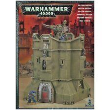 IMPERIAL BASTION BIG-Building! Imperial Terrain Set-Games Workshop Warhammer 40K