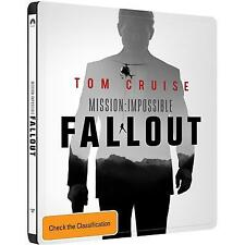 Mission Impossible - Fallout (Blu-ray, 2018, 3-Disc Set)
