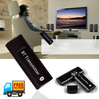 USB Bluetooth Stereo Audio Transmitter Music Dongle Adapter Speaker Receiver UK
