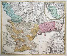 Original vor 1800 Ansichten & Landkarten aus Schweden