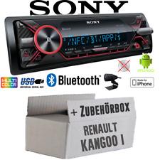 Sony Radio for Renault Kangoo 1 Bluetooth MP3/USB - IPHONE/Android Installation