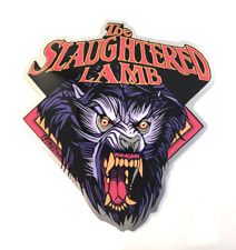 "TYLER STOUT THE SLAUGHTERED LAMB ""AN AMERICAN WEREWOLF IN LONDON"" STICKER +BONUS"