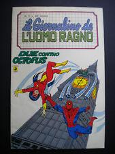 § IL GIORNALINO DE L' UOMO RAGNO n. 17 - ED. CORNO 1982 !! EDICOLA !!