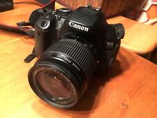 Canon EOS 650D 18.0MP Digitalkamera - Schwarz Kit mit EF-S IS 18
