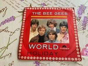THE BEE GEES - WORLD HOLIDAY - VINILE 45 GIRI