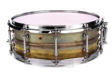 Ludwig Supraphonic Raw Brass Snare Drum 14x5 w/Tube Lugs