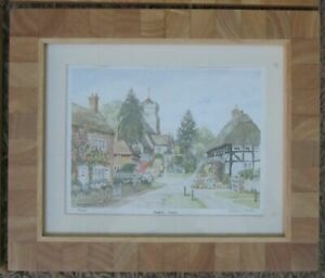 Henfield, Sussex, LIMITED EDITION Print Signed by PATRICIA HALL