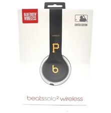 SEALED Beats by Dre Solo 2 Wireless Pittsburgh Pirates MLB Limited Edition NEW