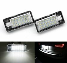 AUDI A3 8P A4 S4 B6 B7 A6 4 F A8 4E 4 H Q7 4 L LED Luce Targa di Licenza Luci