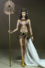 "Custom 1/6 Scale Ancient Egypt Queen Dress Clothing Suit for 12"" Action Figure"