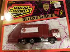 1996 Road Champs Deluxe Series Waste Management Truck No. 5900 Vintage New