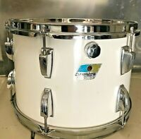 "Ludwig-13"" x 9""-White Cortex-3 Ply Maple-Tom/Drum-Year:1976 (#989-Big Beat)"