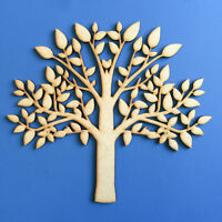 Wooden MDF Laser Cut Tree Shape Blank, Craft, Family Tree, Wedding,Guestbook