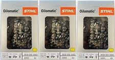 "3 Pack) 16"" STIHL Chainsaw Chain 26RS 62 Rapid Super   3639 005 0062 26 RS 62"