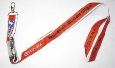 Toyota HBL Handballbund liga llavero nuevo Lanyard (a49v)