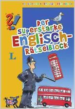NEU: Der superstarke Englisch-RätselBlock von Langenscheidt für Kinder